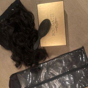 Bellami BOO-GATTI Dark Brown Hair Extensions